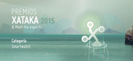 Mejor smartwatch: vota en los Premios Xataka 2015