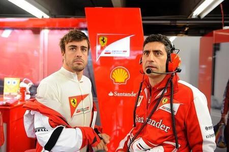 Fernando Alonso, sexto y con esperanzas de remontar