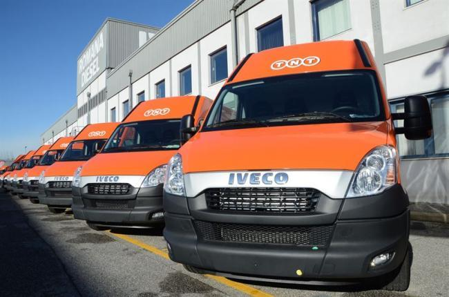 Flota de vehículos comerciales