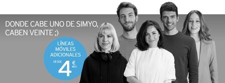 Lineas Moviles Adicionales Desde 4 Euros En Simyo