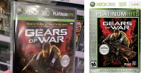 Microsoft cambia el diseño de la serie 'Platinum Hits' de Xbox 360