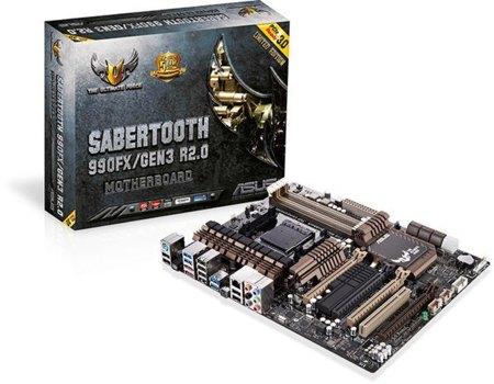 ASUS ya tiene su Sabertooth para AM3 con PCIe 3.0