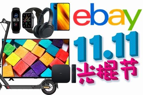 eBay se adelanta al 11 del 11: smart TVs, smartphones patinetes pulseras deportivas o TV boxes Xiaomi, Apple Wacth o auriculares Sony a precios de saldo
