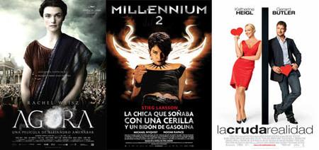 Taquilla española | 'Millennium 2' no puede con 'Ágora'