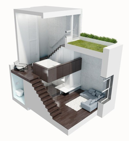 micro loft dibujo