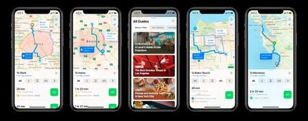 Apple Maps, iOS 14