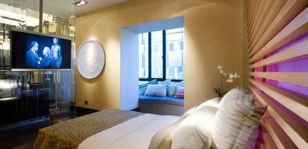 dormitorio espacio aplomo casa decor madrid 2009