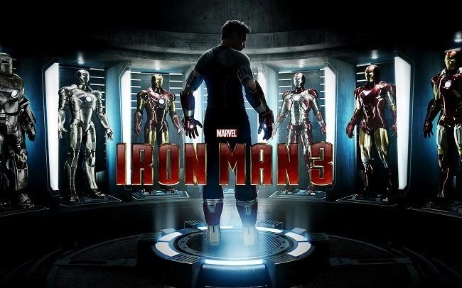 Imagen con el cartel de 'Iron Man 3'