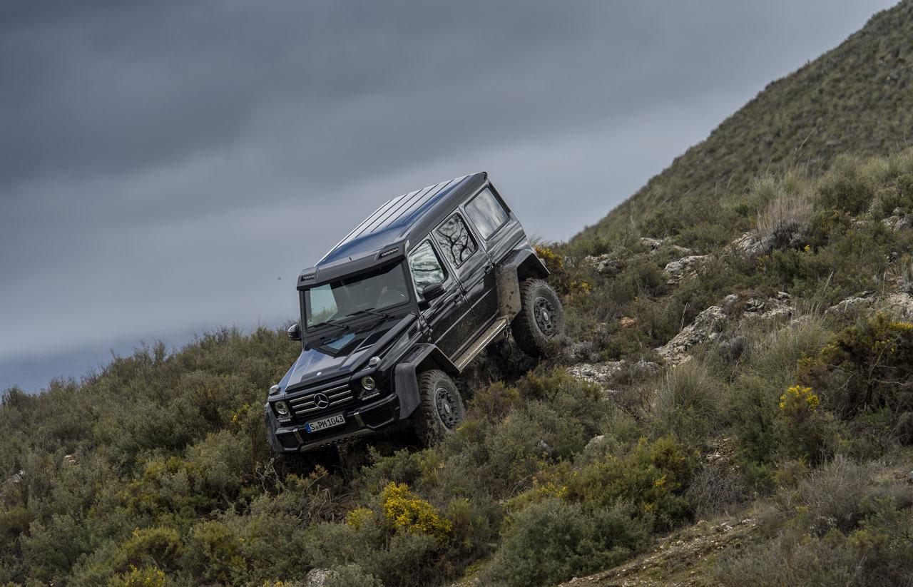 Foto de Mercedes-Benz G 500 4x4², toma de contacto (49/127)