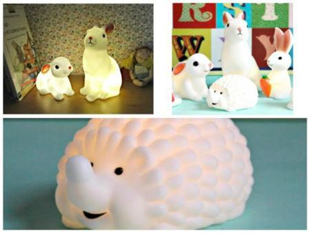 Bueno, bonito y barato: lámparas con forma de animal