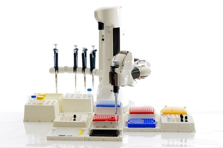Automated Pipetting System Using Manual Pipettes