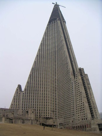 Ryugyong Hotel: el hotel pirámide fantasma