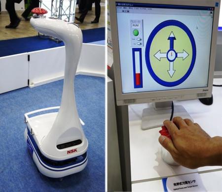 NSK en busca del robot-guía para las personas ciegas