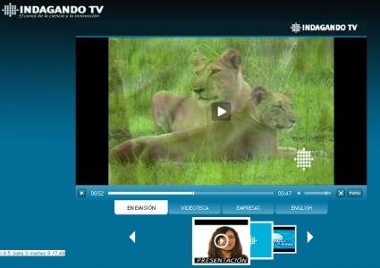 Se presenta la primera televisión online de ciencia y tecnología