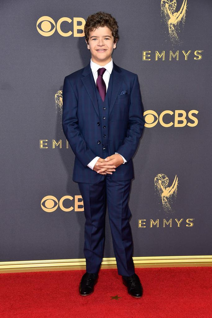 Gaten Matarazzo Stranger Things Cast Red Carpet Emmys 2017 4