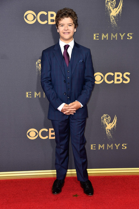 Gaten Matarazzo Stranger Things Cast Red Carpet Emmys 2017 4