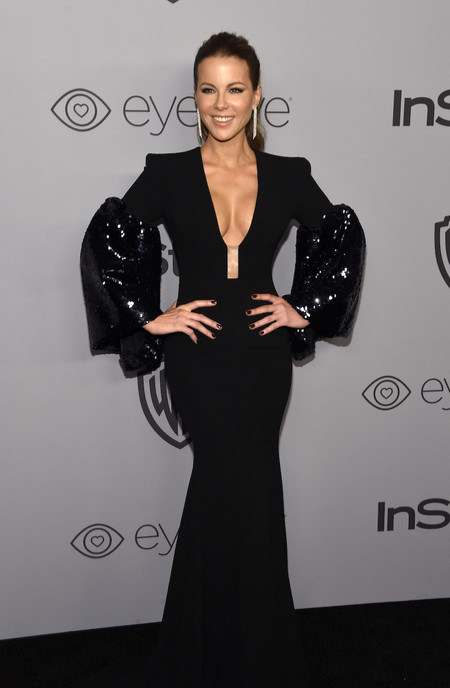 Alfombra Roja Instyle 2018 Kate Beckinsale Alex Perry