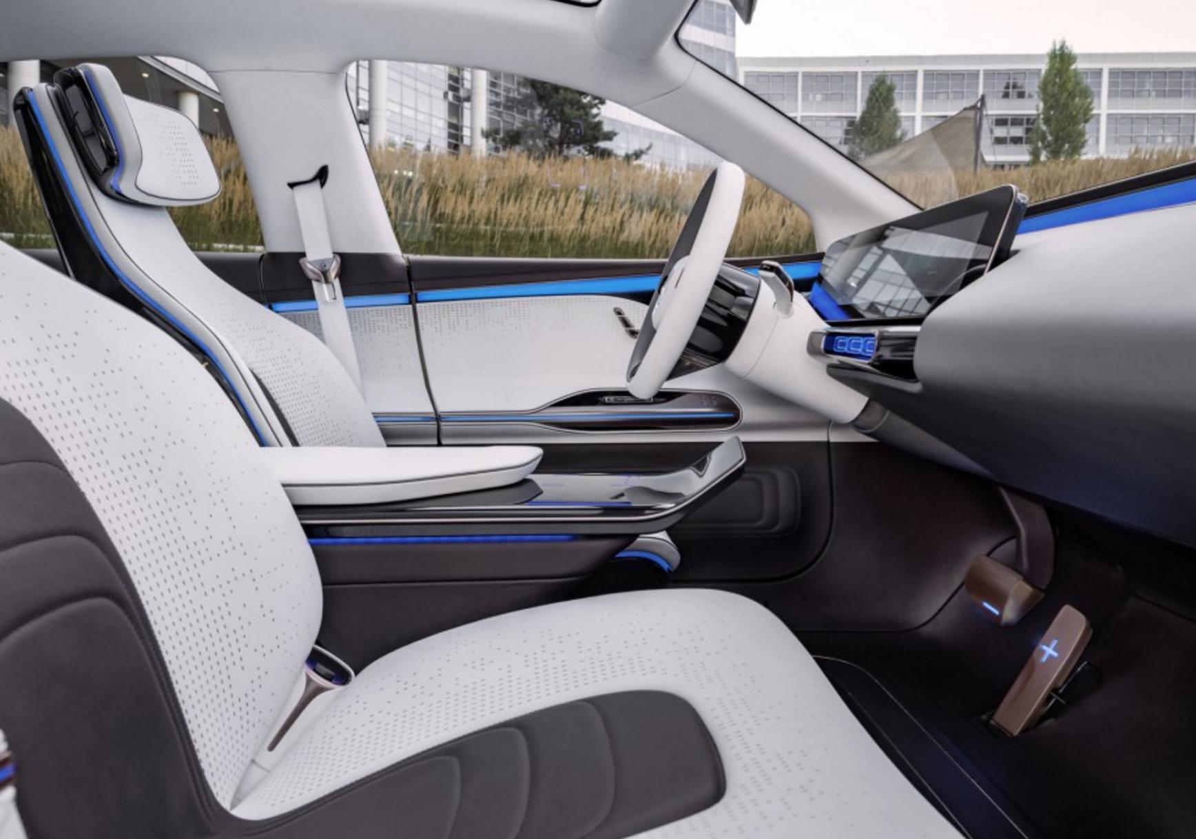 Mercedes EQ interior