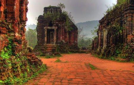 Las ruinas de My Son en Vietnam