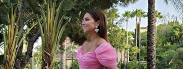 El look del cumpleaños de Paula Echevarría: lo recreamos con estos vestidos, sandalias y pendientes en clave low-cost