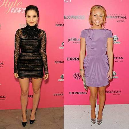 Las invitadas a los Hollywood Style Awards 2009