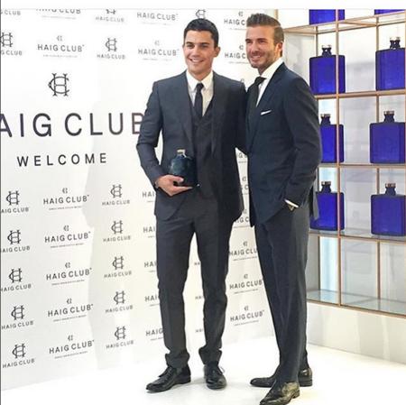 Alex Gonzalez Y David Beckham