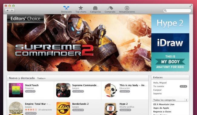 mac app store apple os x