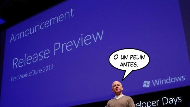 Windows 8 Release Preview podría estar disponible hoy