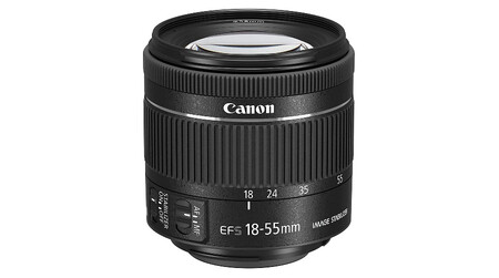 Canon Ef S 18 55 Mm F4 5 6 Is Stm
