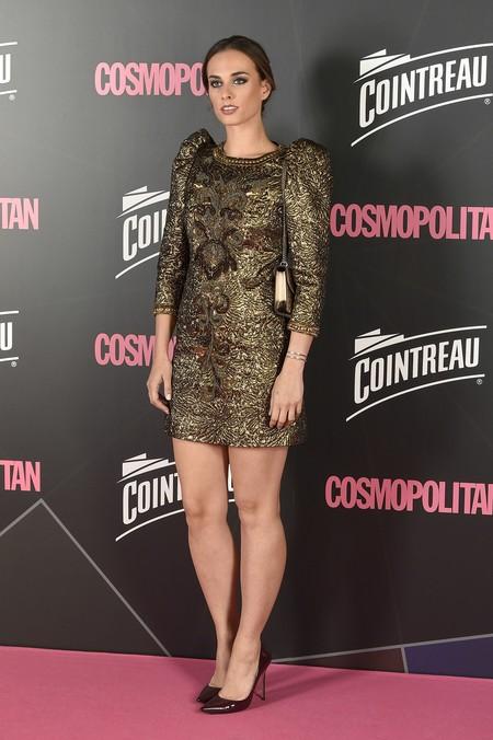 premios cosmopolitan 2017 alfombra roja look estilismo outfit Cantante Sophie Auster