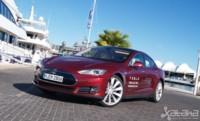 Tesla Model S, prueba. ¿La consola táctil en el coche es el futuro?