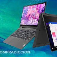 La comodidad de una tableta y la polivalencia de un portátil en un sólo dispositivo al mejor precio: Lenovo IdeaPad Flex 5 14IIL05 por 649 euros en Amazon