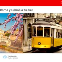 10 días en Florencia,Venecia,Roma y Lisboa por 775 euros