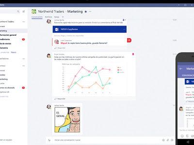 Microsoft Teams y el cómo Office 365 quiere facilitar la comunicación en los entornos de trabajo