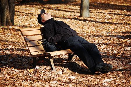 """""""Japoneses durmiendo"""": un proyecto curioso por Héctor García"""