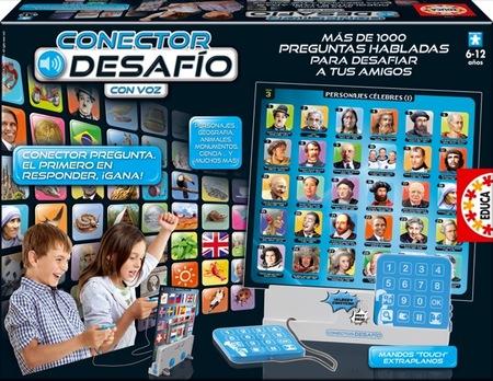 Conector Desafío de Educa es un emocionante juego de preguntas y respuestas para los peques