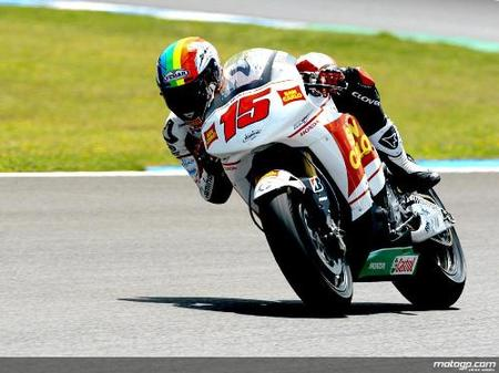 Alex de Angelis a Moto2 con Scot Racing