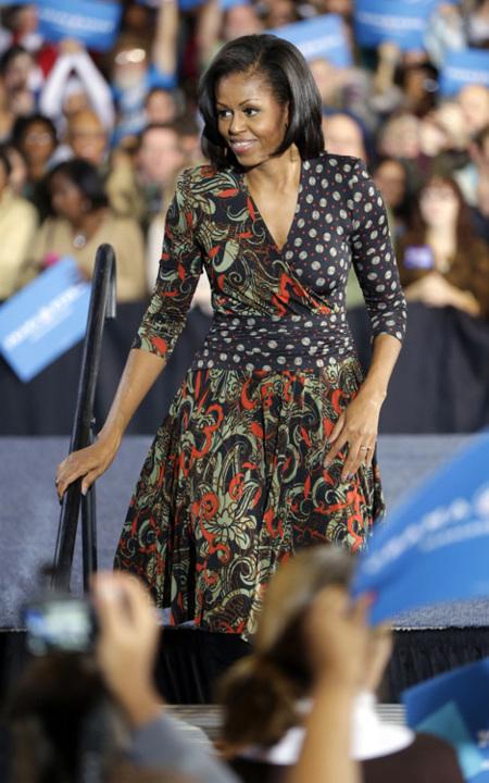 Michelle Obama joven