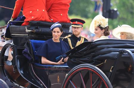 Meghan Markle reaparece en el 'Trooping the Colour', el desfile celebrado en honor al cumpleaños de la reina Isabel II