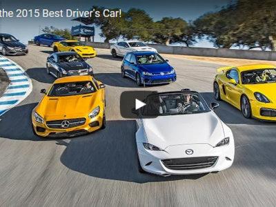 Motor Trend Best Driver's Car 2015: prepara las palomitas y sube el volumen (vídeo)