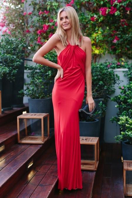vestido rojo tuula