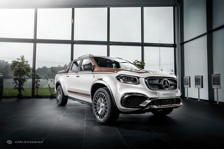 "Carlex Design ""revive"" a esta Mercedes-Benz Clase X con un toque muy peculiar"