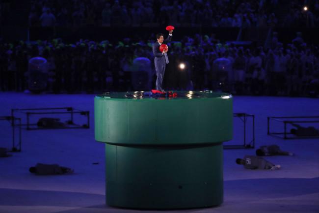 Shinzo Abe Tokyo 2020 Rio Closing Ceremony Mario