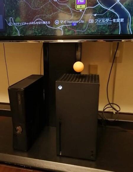 Lamentablemente la imagen de la pelota flotando sobre Xbox Series X es falsa (y nos ha destrozado la ilusión)