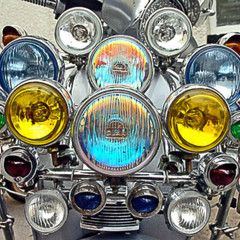 Foto 2 de 14 de la galería scooter-clasicos-faros-y-retrovisores-a-go-go en Motorpasion Moto