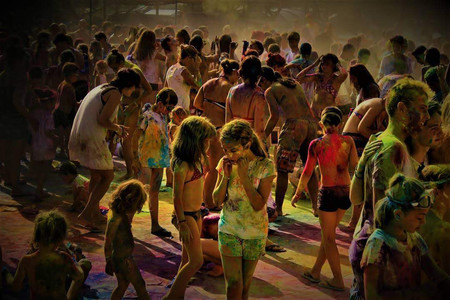 Winner Of The Photobox Instagram Photography Awards In The Festival Category Capturing A Colour Festival In Roda De Bara By Saian Vergne