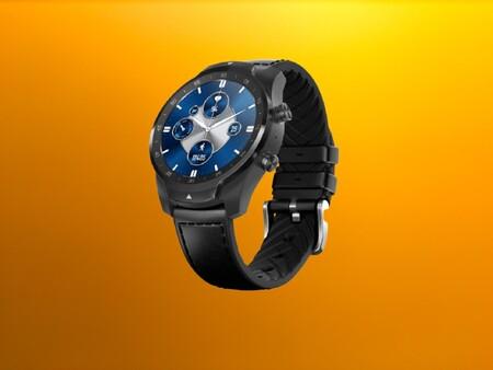 Este moderno smartwatch deportivo TicWatch tiene resistencia militar, NFC para pagar y está a precio mínimo de 161 euros en Amazon