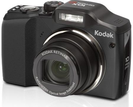 Kodak EasyShare Z915, con zoom de 10 aumentos
