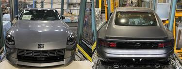 ¡Espiado! El Nissan 400Z se muestra en lo que parece ser su forma de producción y sin camuflaje