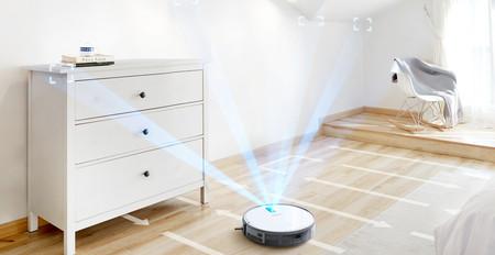 El Deebot 710 es un robot de limpieza de Ecovacs, asequible pero con prestaciones de modelos superiores